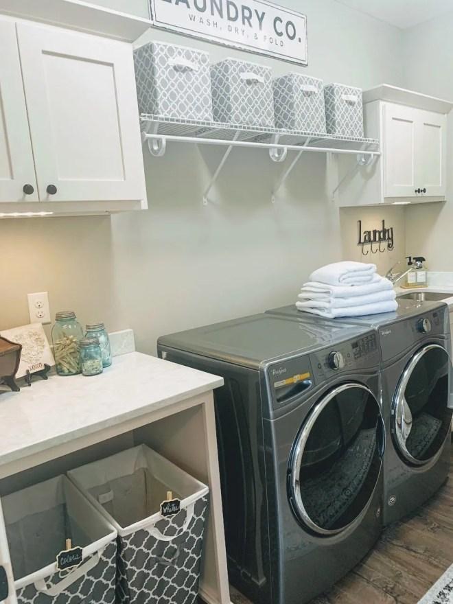 laundry room refresh.