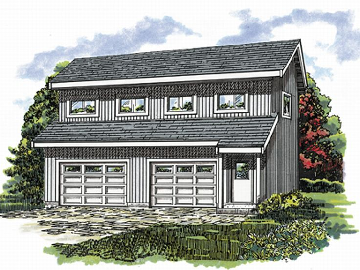 The House Plan Shop Blog » Carriage House Plans & Studio