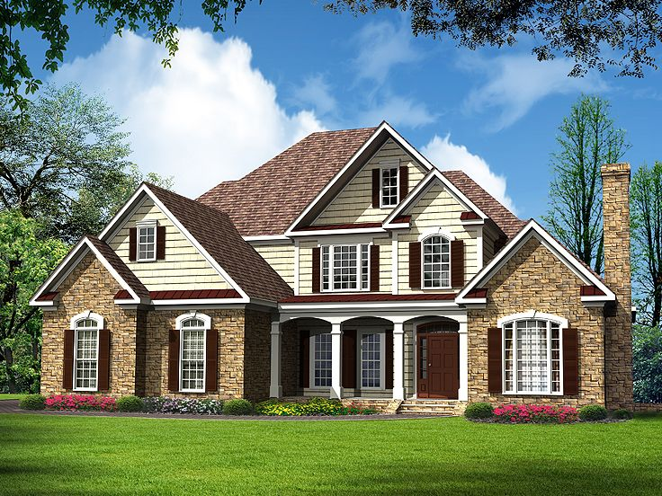 Luxurious Two-Story Traditional