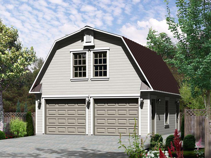 Barn-Style, 2-Car Garage