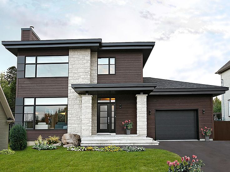 Modern Two-Story Home Plan