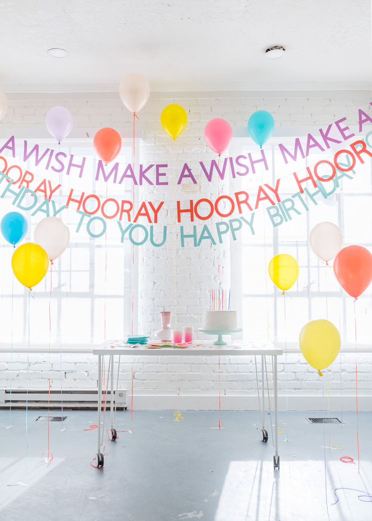 Diy Happy Birthday Banners The House That Lars Built