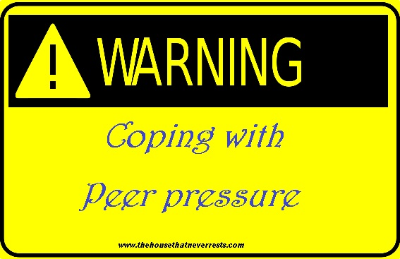 coping with peer pressure