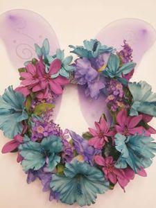 Fast, Fun Dollar Store Spring Floral Wreath