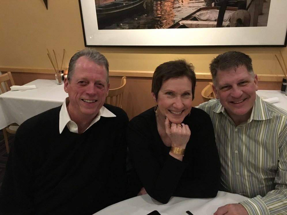 Broadway vets Brandt Edwards, Renee Baughman and Tony Parise