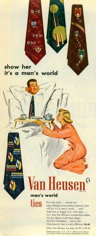 Throwback Thursdays: A Man's World