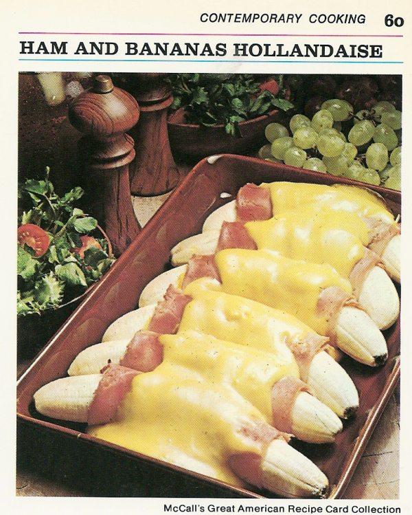 Throwback Thursdays: Ham & Banana Hollandaise