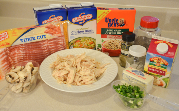 Ingredients: mise en place before anything else.