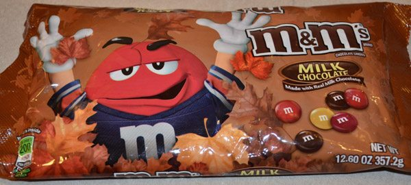 I use Fall M&M's for the colors. But you can use any ones you want.