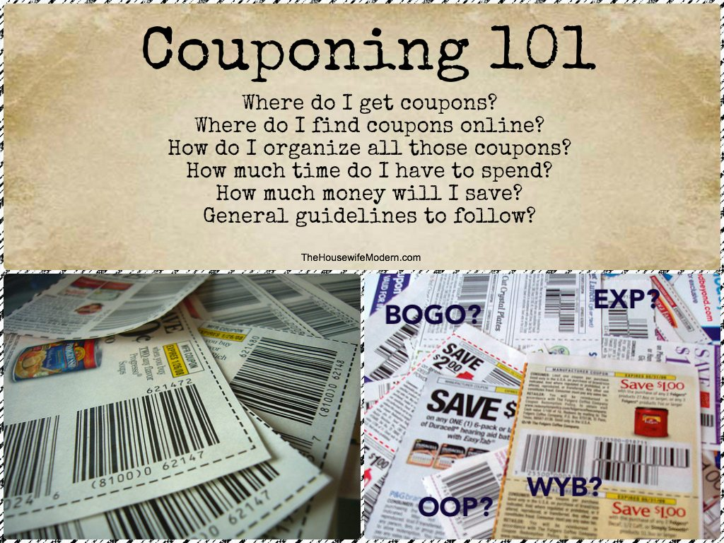 Couponing 101: What You Need to Know