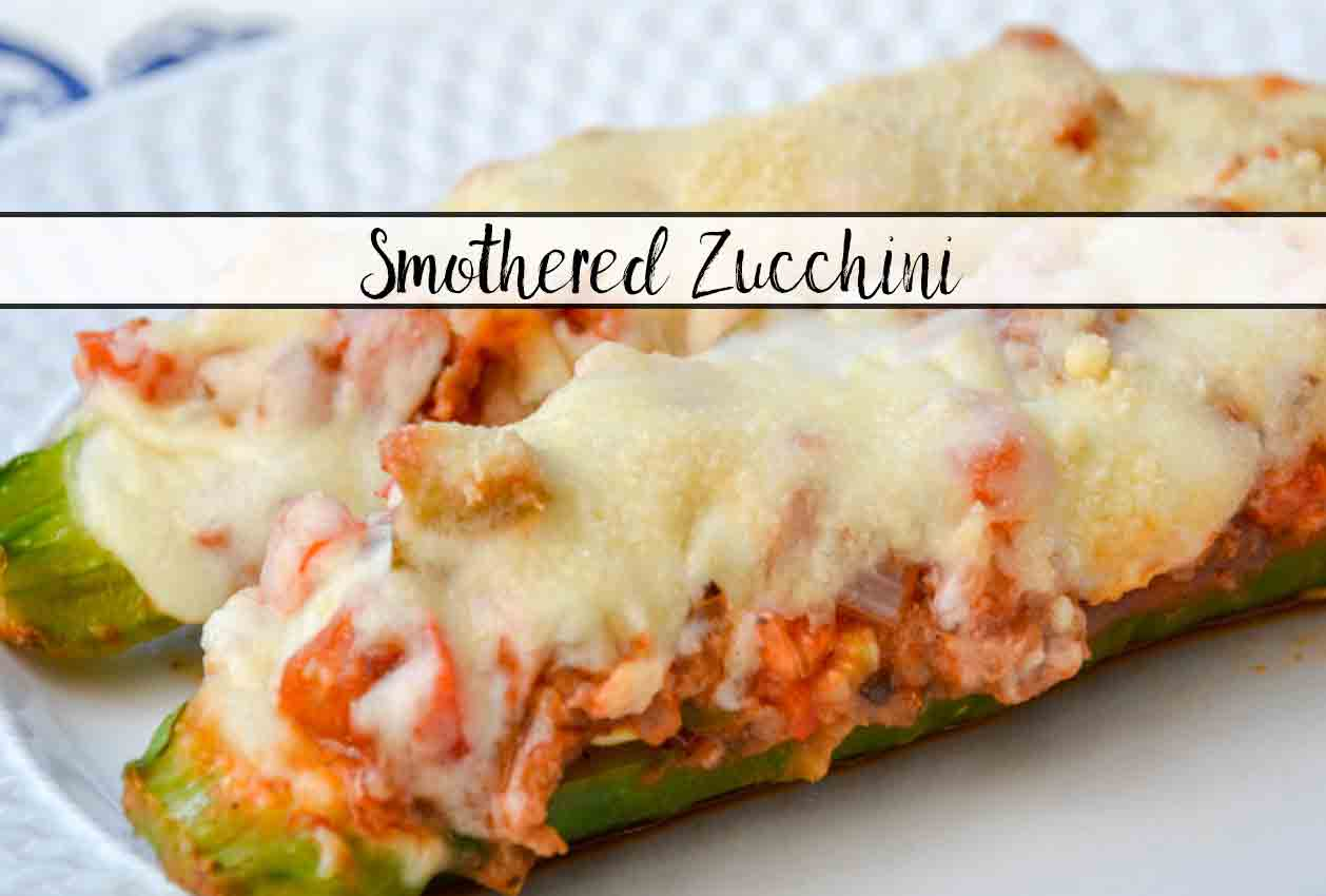 Smothered Zucchini: Easy, Delicious, & Healthy