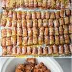 Bacon Wrapped Little Smokies, aka Crack Weenies