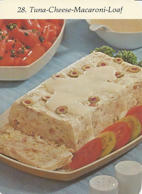 Insane Vintage Recipes: Tuna Macaroni Loaf