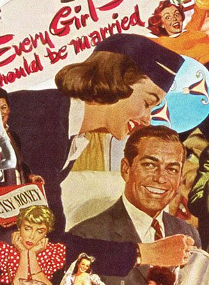 Sexist Vintage Ad: Every Girl Should Be Married