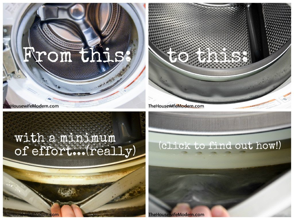 How to a Clean a Front Load Washer