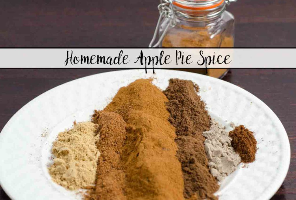 Homemade Apple Pie Spice. Tastes better than store-bought, cheap and easy. Plus ideas where to use apple pie spice (besides in apple pie, obviously).