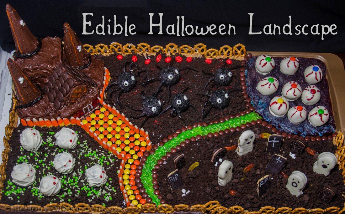 Edible Halloween Land: Chocolate Castle, Buckeye Lake, Mummy Meadow, & more