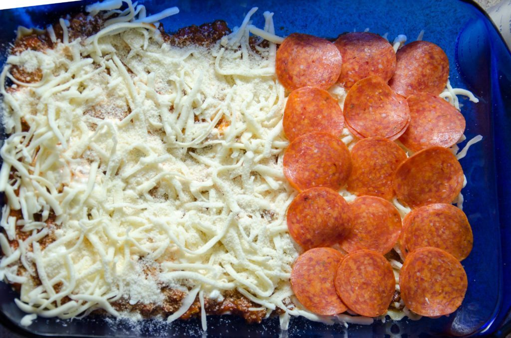 Optional: add some pepperonis.
