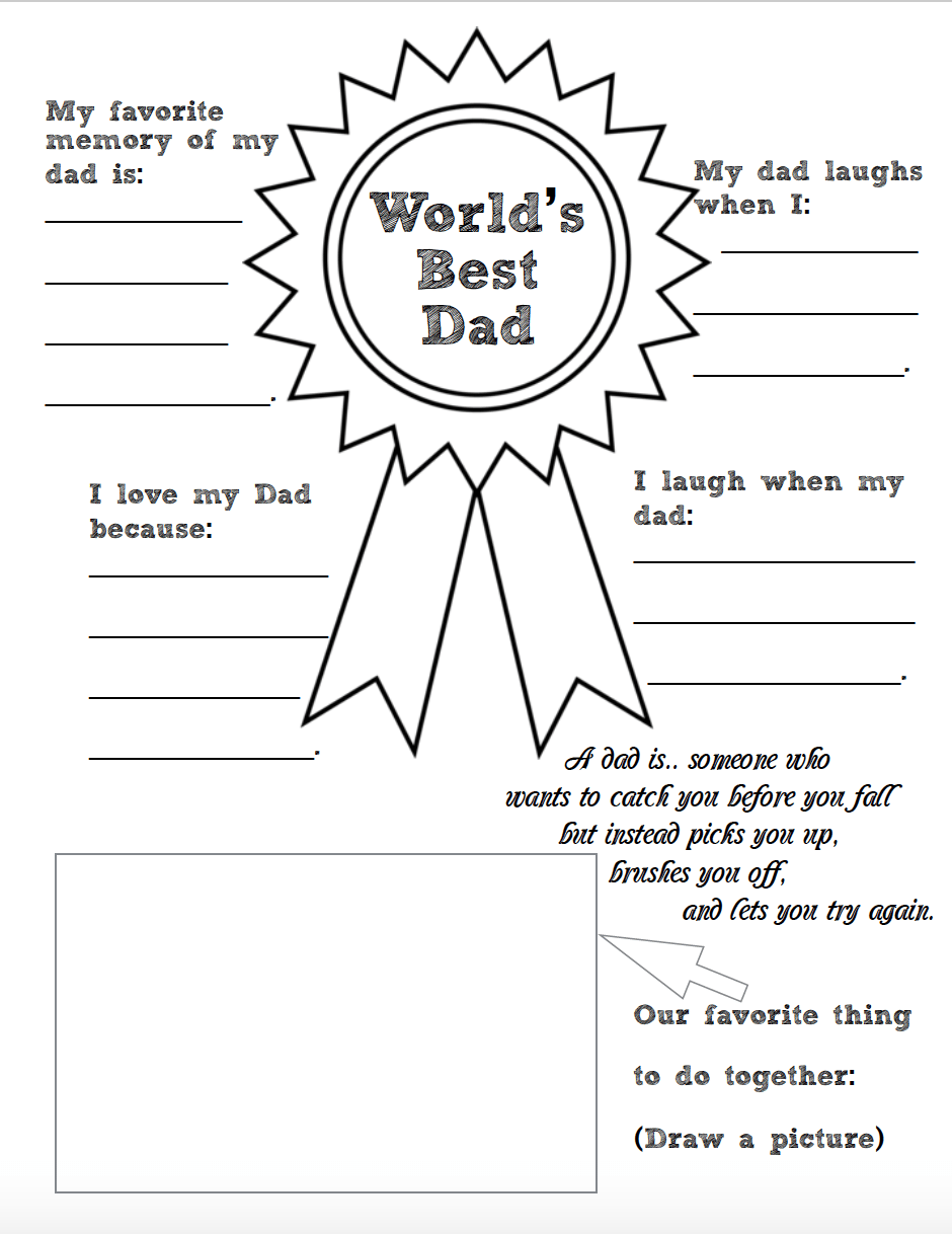 graphic regarding All About My Dad Free Printable identify No cost Printable Fathers Working day Coloring Worksheets: 2 layouts