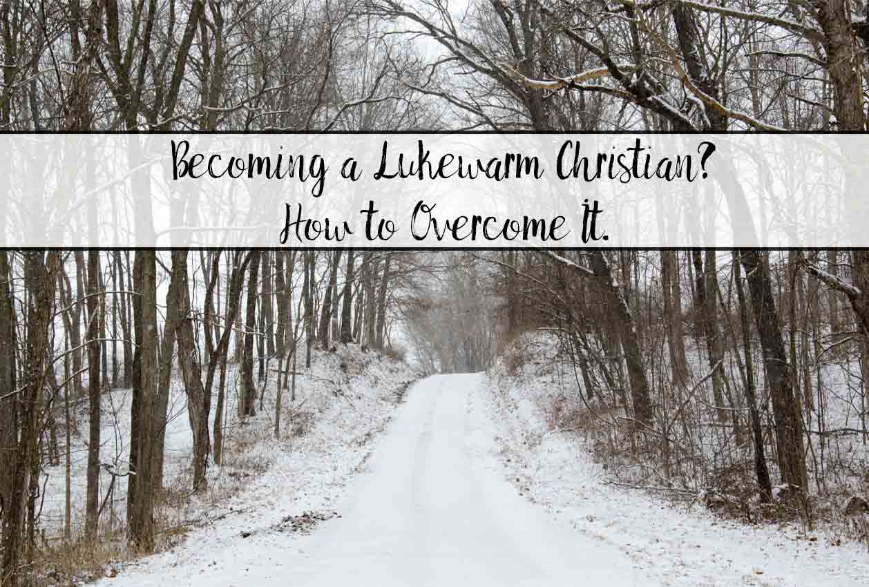 Are you becoming a lukewarm Christian? Or feeling spiritual dryness despite your efforts? Finding God despite that and how to overcome those feelings.