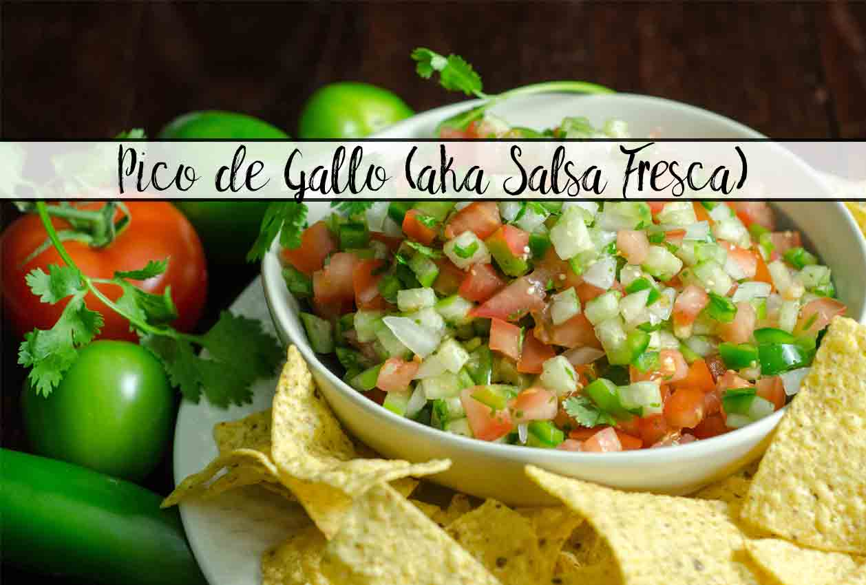 Homemade Pico de Gallo Recipe (aka Salsa Fresca)