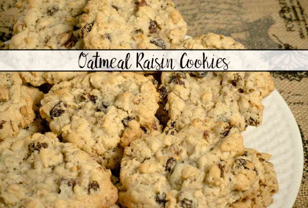 These Oatmeal Raisin Cookies are INCREDIBLE! They're soft and chewy. The texture is perfect. And there are tips on the perfect cookie.