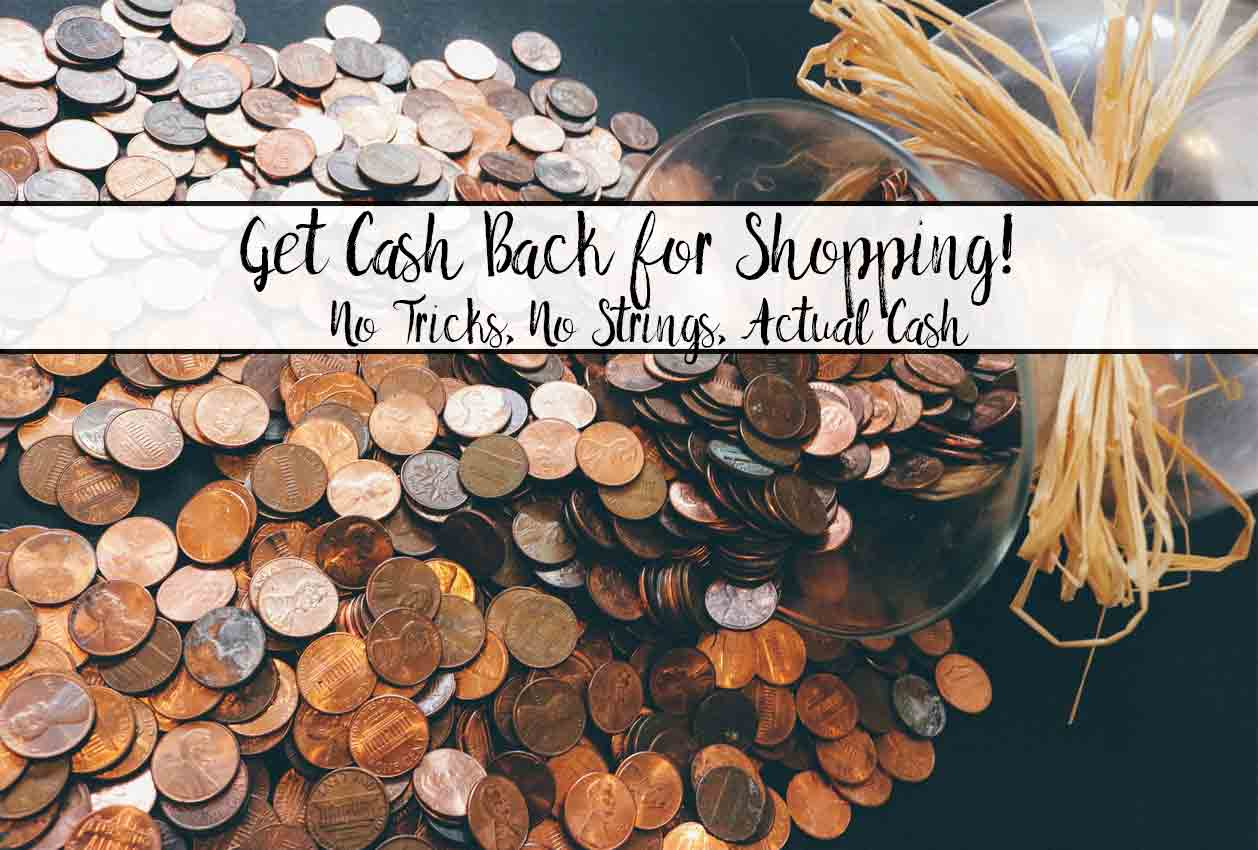 Cash Back for Shopping- No Tricks, Actual Cash