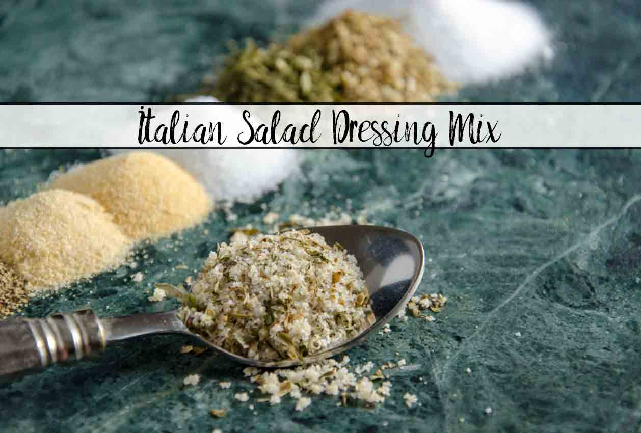 Homemade Italian Salad Dressing Mix