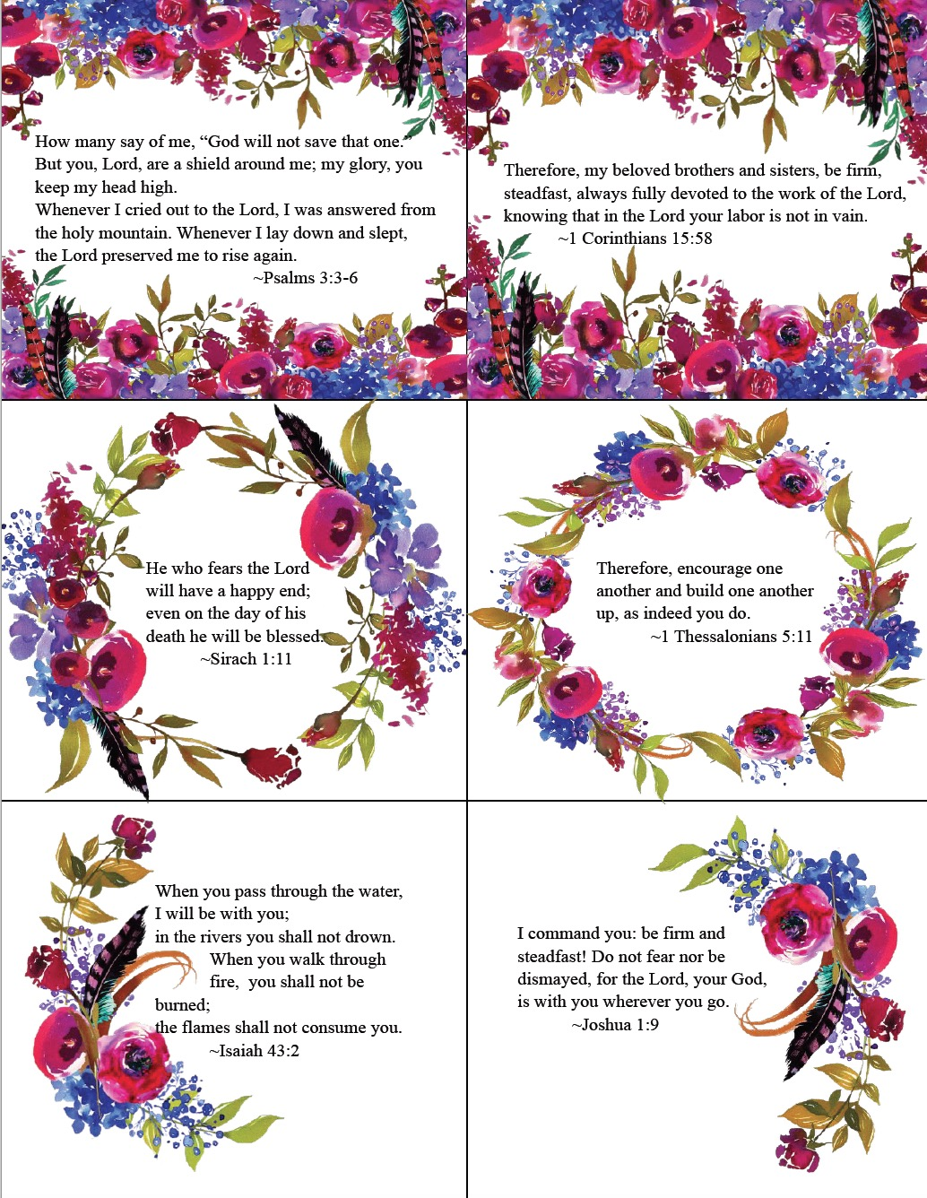 It's just a picture of Unusual Free Printable Scripture Cards