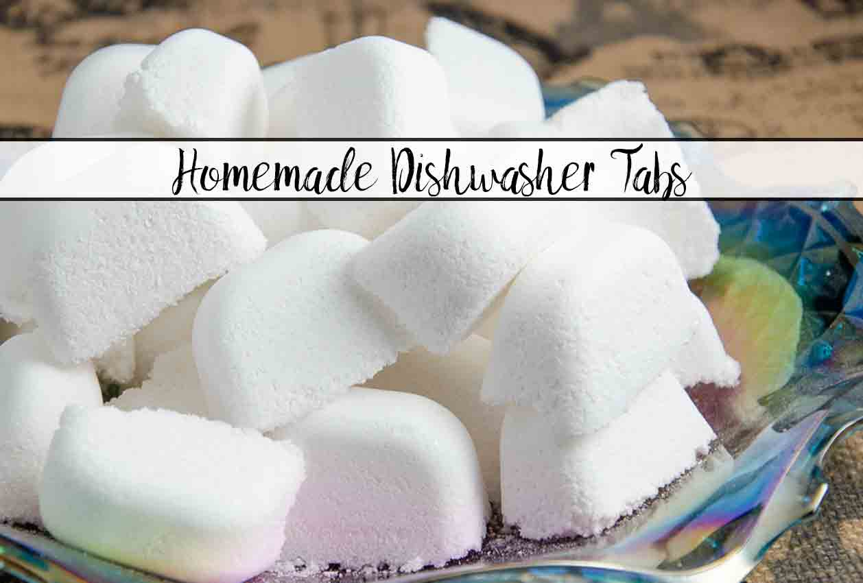 How to Make Homemade Dishwasher Detergent Tabs (That Actually Work!). I tried and tested half a dozen methods and found the best. Save money.