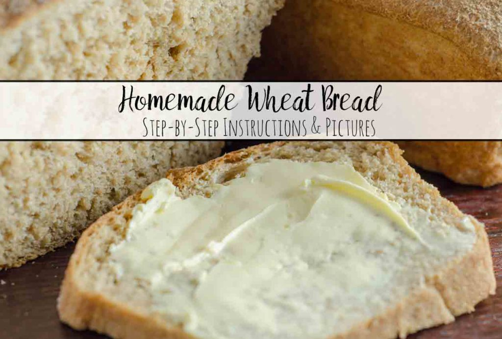 Perfect Homemade Wheat Bread (and it works for sandwiches). Tastes better & saves money! Step-by-step pictures and descriptions.