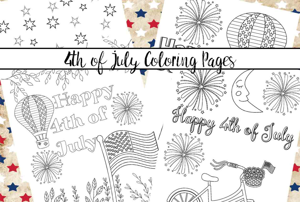 photo relating to July 4th Coloring Pages Printable named Totally free Printable Fourth of July Coloring Web pages: 4 Models