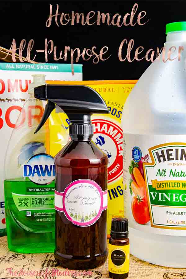 How to Make Homemade All-Purpose Cleaner. Save a ton of money by making your own homemade all-purpose cleaner. #clean #cleaner #homemade