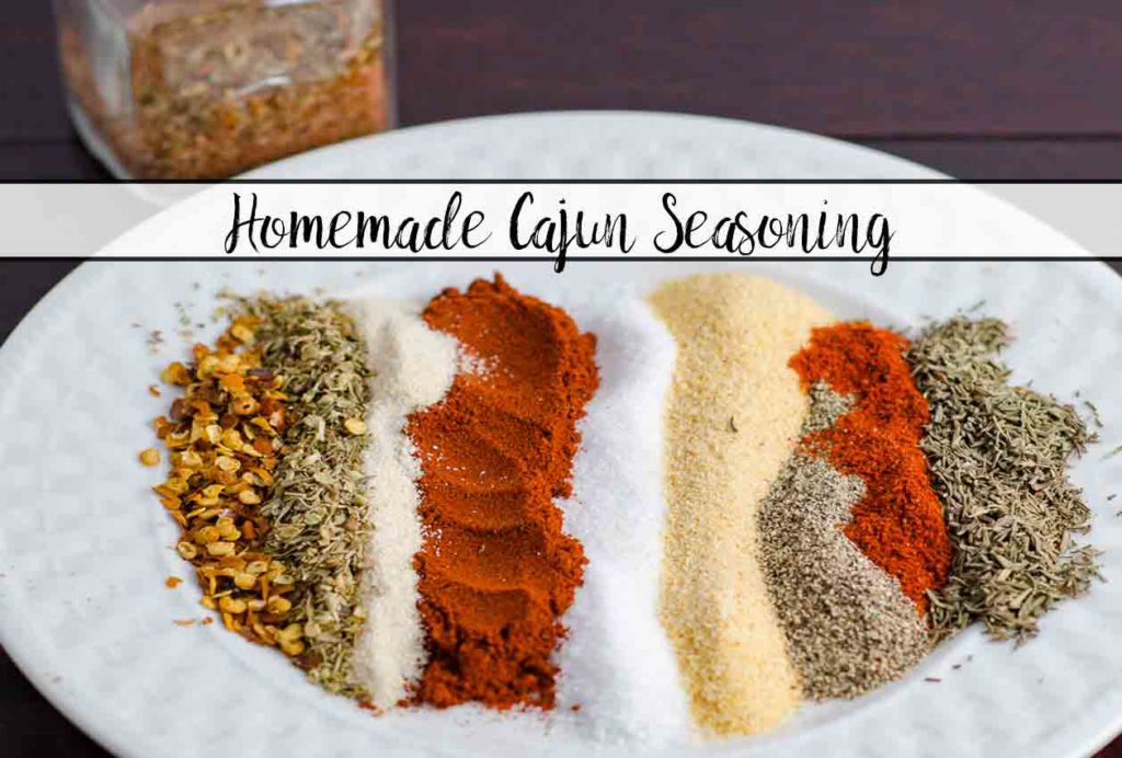 Homemade Cajun Seasoning. Trust me...you will NEVER buy store-bought again. Plus ideas for where to use Cajun Seasoning.
