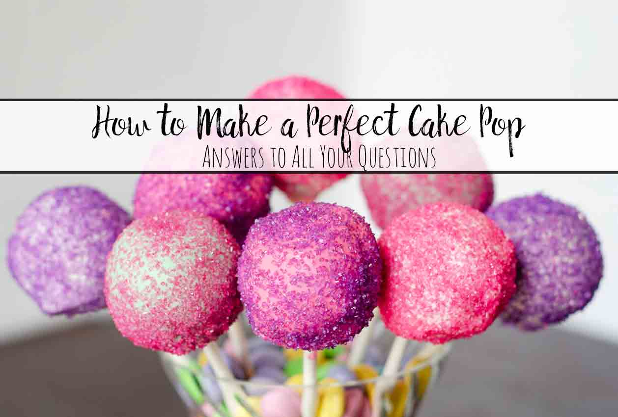 Answers to all your cake pop questions. What cake to use. What frosting to use. How to melt the chocolate. What chocolate to use. How to dip. How to decorate.