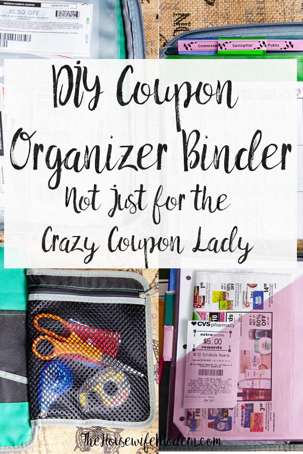 How to Make a Coupon Organizer Binder: Couponing Like a Normal Person. DIY, instructions and pictures of exactly what you need in a coupon organizer binder. #coupon #saving #couponorganizer #couponbinder