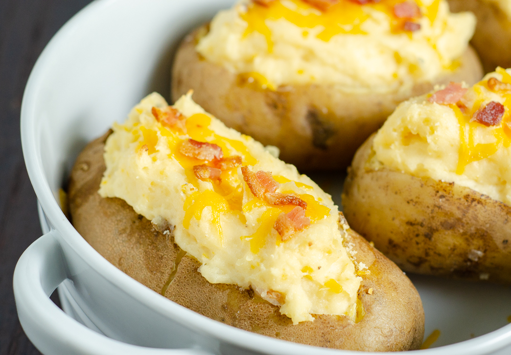 Twice Baked Potatoes Potatoes Taken To The Next Level