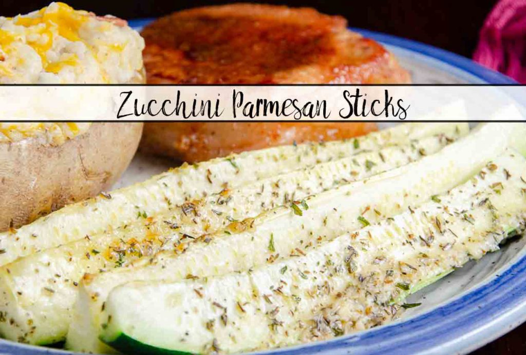 Baked Zucchini Parmesan Sticks. Easy, healthy, versatile side dish. Zucchini sprinkled with Parmesan and seasoning, then baked to perfect crisp-tenderness.