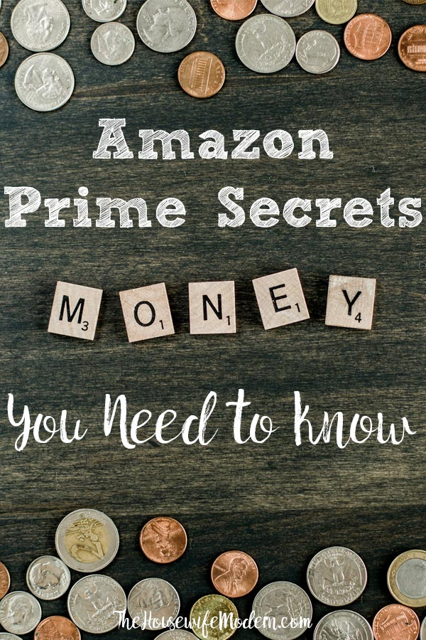 Amazon Prime Secrets You Need to Know: Get the Most For Your Money. Amazon prime benefits, coupons, deals, and savings you need to know! Save money today. #amazon #amazonprime #save #savings #money #primesavings