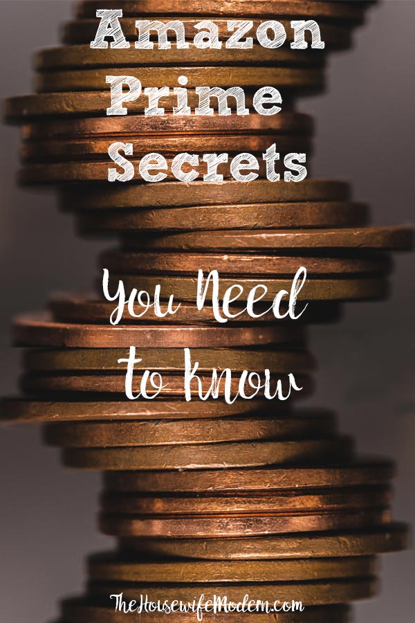 Amazon Prime Secrets You Need to Know: Get the Most For Your Money. Amazon prime benefits, Amazon coupons, Amazon deals, and savings you need to know! Save money today. #amazon #amazonprime #save #savings #money #primesavings