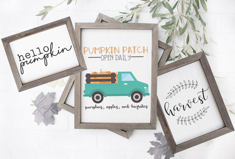 3 Farmhouse Printables Thanksgiving. Part of Free Thanksgiving Printables Round-Up. Over 50 free Thanksgiving printables including decor, planners, labels, food decoration, and more! #thanksgiving #free #printable #freeprintable #thanksgivingprintable