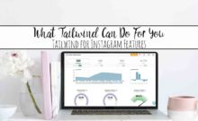 What Tailwind for Instagram Can Do For You. Tailwind for Instagram features explained, including hashtag finder (no more searching for hashtags!), profile performance, pin inspector, and more!