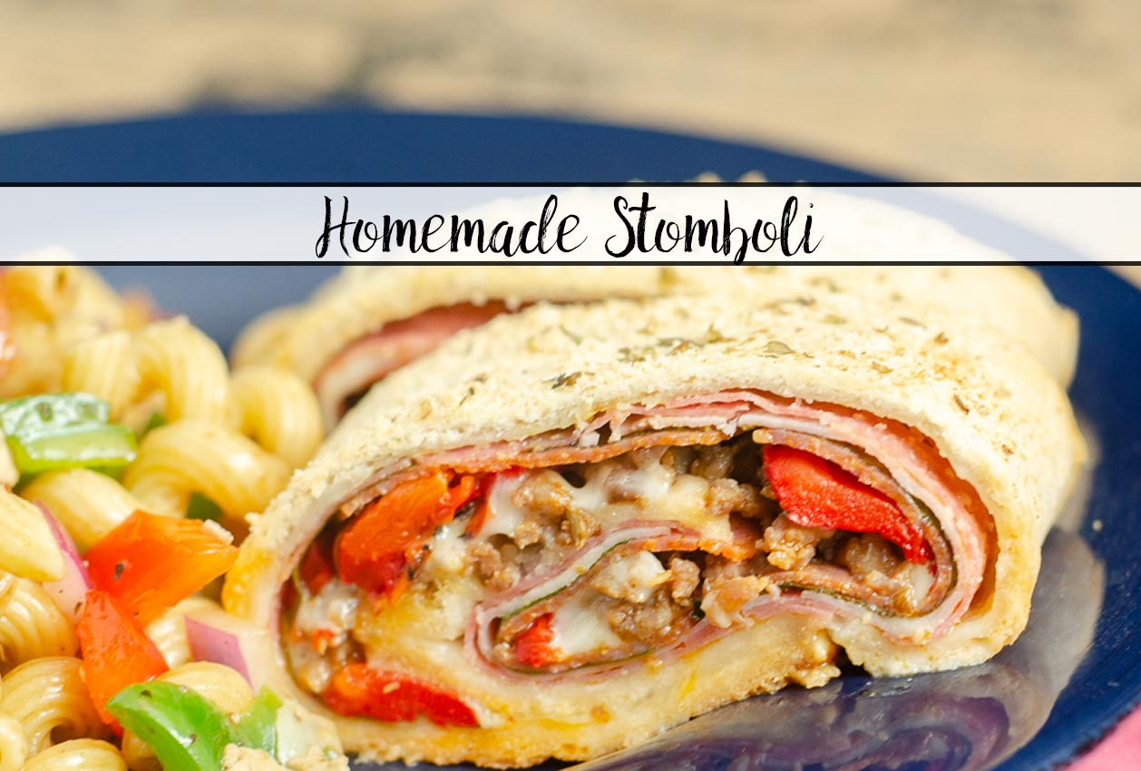 Homemade Stromboli- Like Your Favorite Pizzeria
