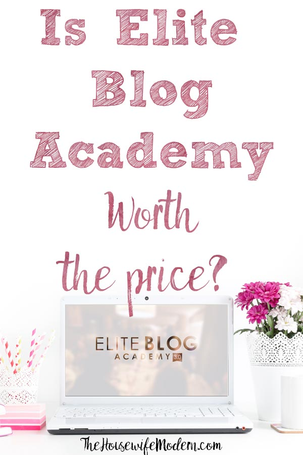 Elite Blog Academy review. How to know if it's right for you. Real results reported. Pros and cons. Decide whether it's worth the investment. #EBA #eliteblogacademy #blog #blogging #bloggingresources #earnmoneyblogging