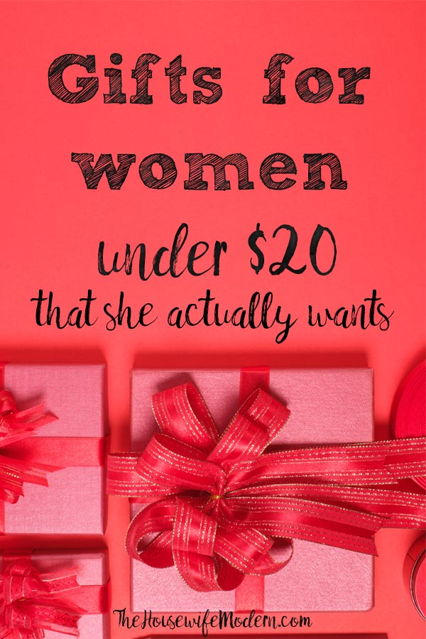 Amazing Gifts for Women Under $20. Gifts ideas for her. Whether for wife, mom, best friend, or sister, give her something she actually wants. #giftsforwomen #giftsforher #giftsunder50 #gifts