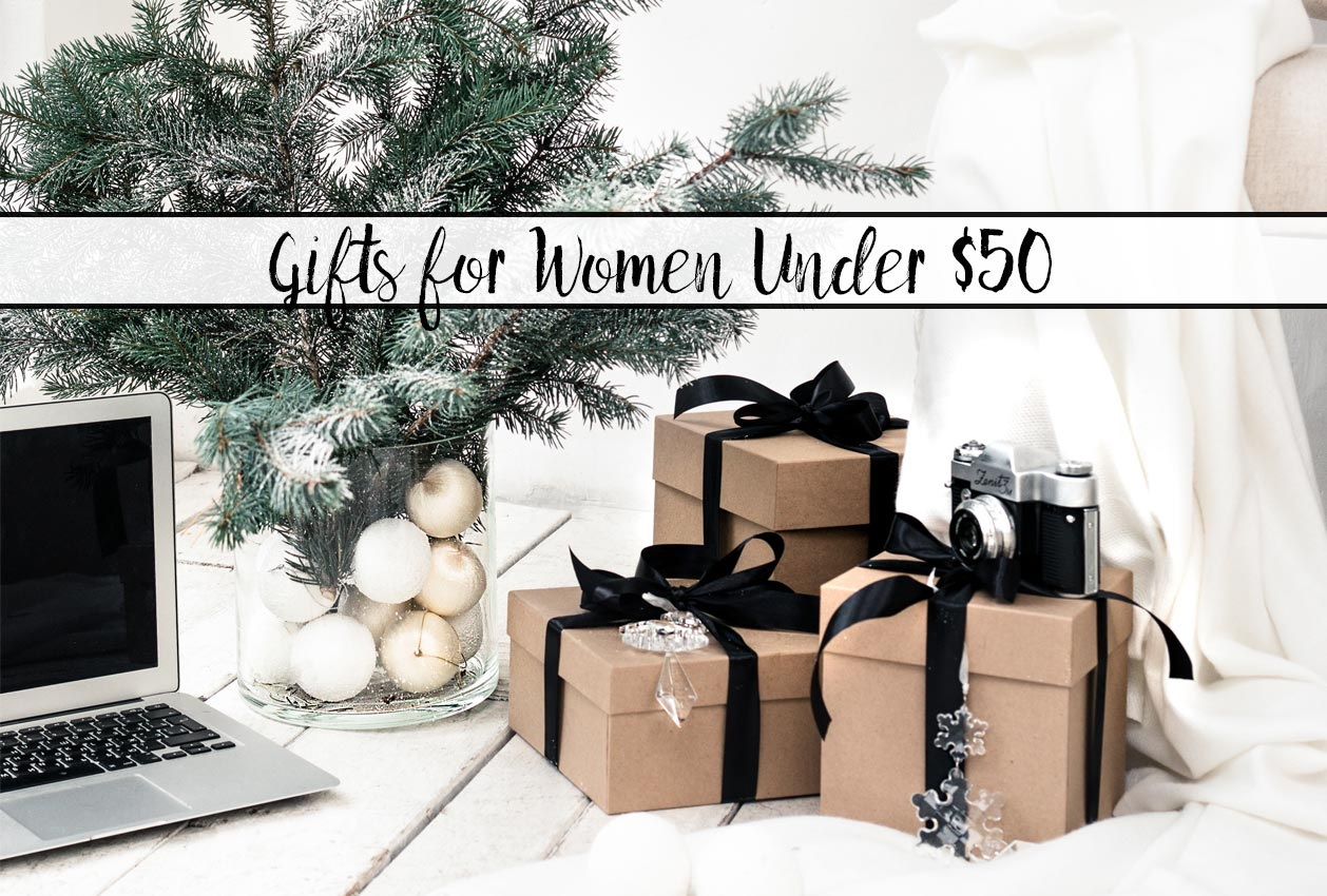 Amazing Gifts for Women Under $50. Gifts ideas for her. Whether for wife, mom, best friend, or sister, give her something she actually wants.