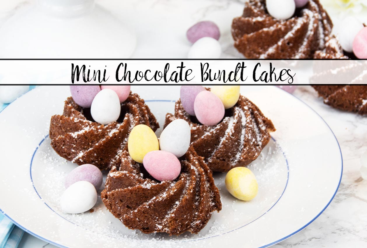 Mini Chocolate Bundt Cakes: Perfect Easter Treat