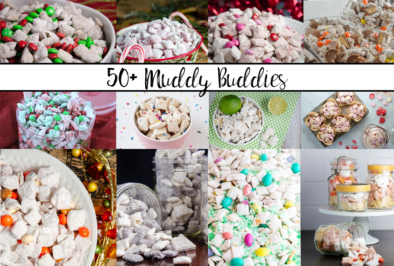 50+ Muddy Buddies: Puppy Chow Recipes for Every Occasion