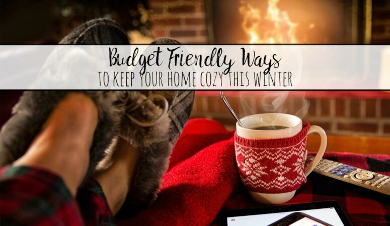 Budget-Friendly Ways To Keep Your Home Cozy This Winter
