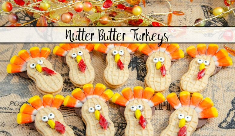 Nutter Butter Turkey Cookies: Fun and Easy Thanksgiving Treat